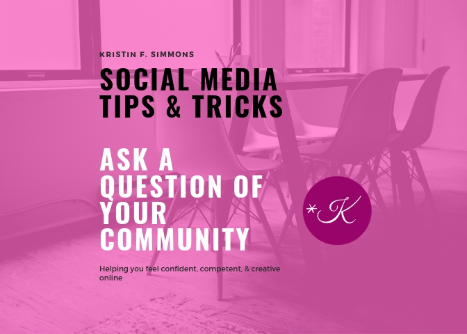 Ask a Question: What to Post on Social Media for Small Businesses?