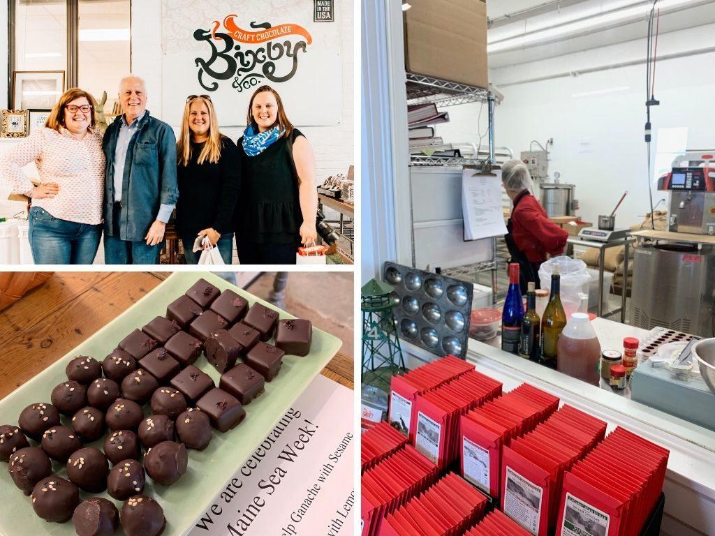 Rockland Maine Kristin Fuhrmann Simmons Bixby Chocolate